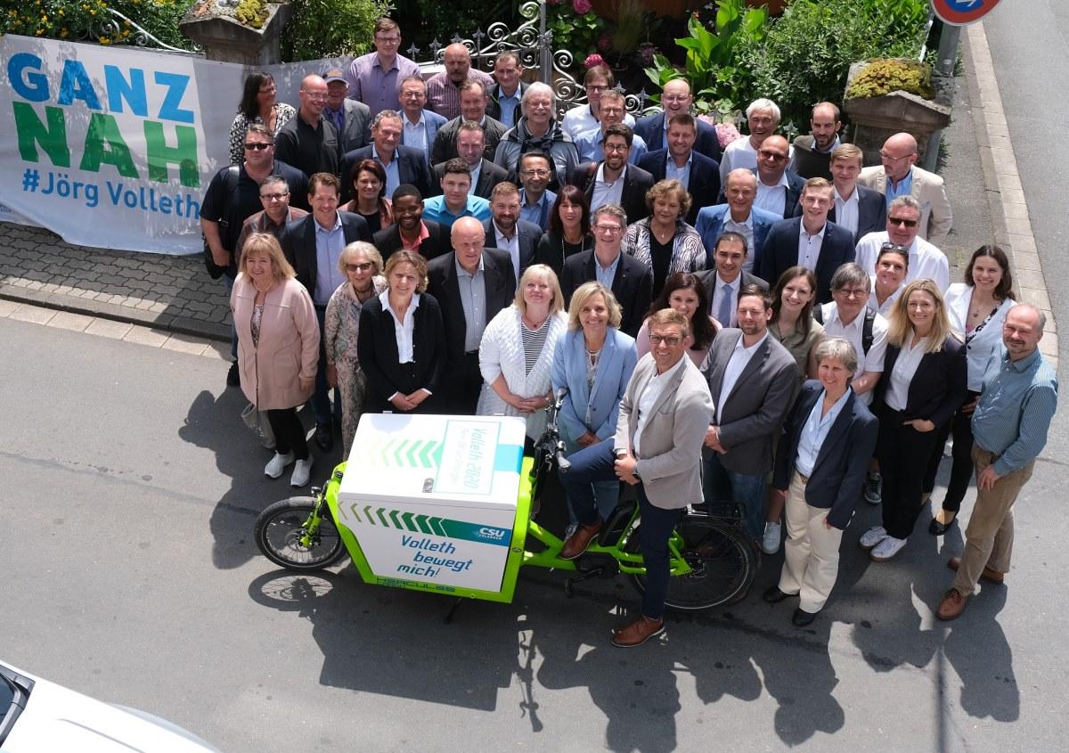 """Das """"Team Volleth"""" für die Kommunalwahl 2020"""