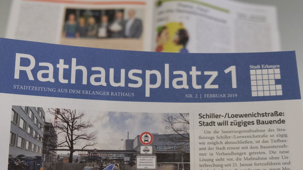 """Die Stadtzeitung """"Rathausplatz 1"""" sofort einstellen: Die logische Konsequenz aus einem Urteil des BGH zu kommunalen Stadtzeitungen"""