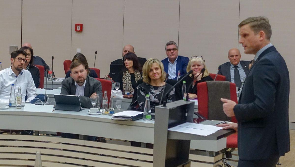 CSU-Fraktionsvorsitzender Jörg Volleth sagt