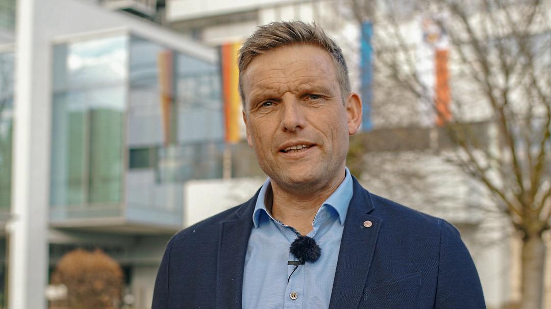 Oberbürgermeister-Kandidat Jörg Volleth