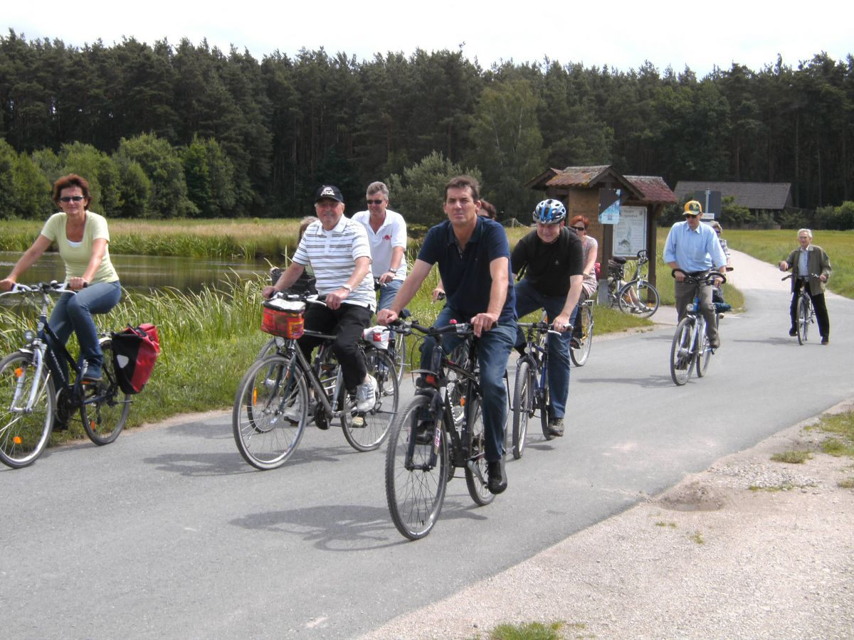 Traditionelle Familienradtour am Fronleichnamstag